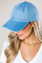 Denim Blue Baseball Cap