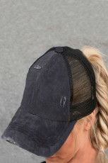Multi Level Crisscross Pony Cap