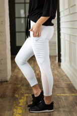 Witte Moto Pocket legging
