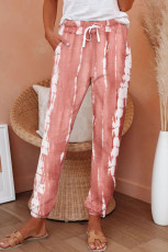 Rosa Pocketed Tie-dye Knit Joggers