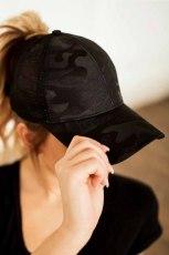 블랙 메쉬 통기성 스냅 백 조정 가능한 캐주얼 야구 모자