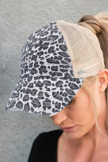 Grep Leopard Printed Cap