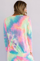 Set de Lounge Pink Snuggle Down Tie Dye