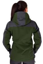 Grøn Silence Proshell-jakke