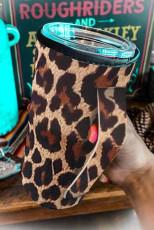 Becherabdeckung mit Leopardenmuster