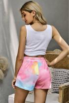 Mehrfarbige Neon Tie Dye Shorts