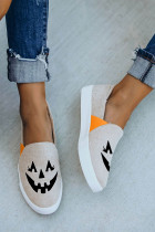 Jack O 'Lantern Halloween Pumpkin Slip-on Sneak