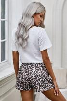 Celana Pendek Leopard Tie Dye