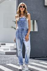 Einteiliger Jeansoverall