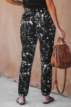 Splatter Cotton Pocketed Joggers