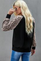 Leopard Pumpkin In áo dài tay