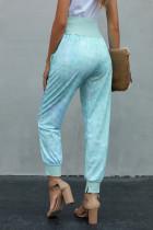 Gök Mavisi Batik Cep Casual Pantolon
