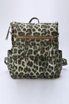 Mochila de viagem Khaki Leopard