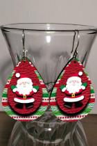 Joulupukin kaksikerroksiset korvakorut