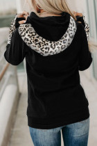 เสื้อฮู้ด Leopard Double Hoods Thumb Hole