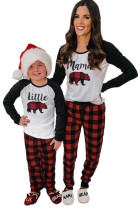 Комплект домашней одежды для дома для отпуска Mama's Holiday в клетку