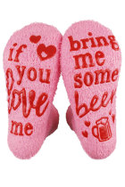 If You Love Me Bring Me Some Beer Socks