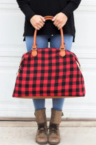 Red Buffalo Plaid Handbag