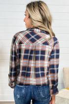 Chique geruit overhemd met zak