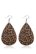 Earrings Pattern Earrings Leopard