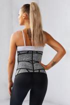 Серый тренажер для похудения