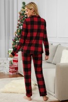 Buffalo Plaid Flanell Schlafenszeit Pyjama Set