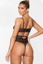 Black Lace Bodysuit aushöhlen