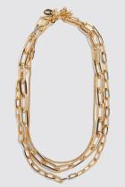 Goldene Kette Halskette