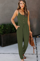 Jumpsuit Knit Pocketed Kesk