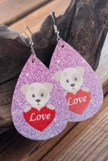 Potka Dog Love Love Shining Earring's Valentines