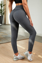 Graue Leggings in perfekter Form