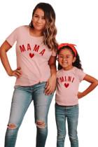 MINI Letter Print -tyttöjen t-paita