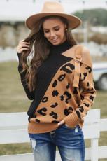 Sweater Gesper Asimetris Hitam