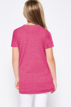 Kaos Rosy Buttoned Arched Hem Girls
