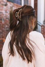 Altın Saç Pençe Klipsi
