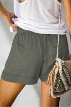 Calções Tencel de bolso verde Strive