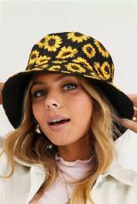 หมวกบัคเก็ตผู้หญิงดอกทานตะวัน