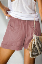 Shorts Tencel Pink Strive no bolso