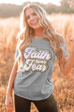 Kaos Grafis Faith Over Fear