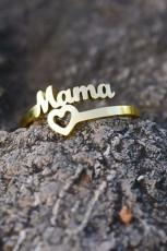 ゴールドヴィンテージママ&ハートリング