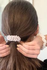 Dual-purpose Personalized Hair Tie Bracelet