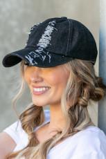 Уличная хипстерская черная шляпа