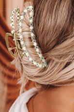 Κορεατικό στυλ κλιπ μαλλιών μαργαριτάρια