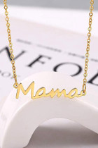 Mama Letters 펜던트 목걸이