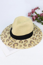 Leopard Print Outdoor Sun Protection Hat