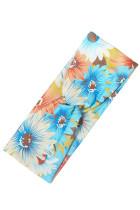 Κλασική Floral εκτύπωση Ελαστική Yoga Casual κορδέλα