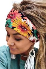 Floral Εκτύπωση Ελαστική Γιόγκα Casual Headband