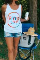 RIVER LIFE Print Tank Top