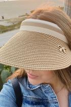Шляпа с УФ-солнцезащитным козырьком с большими полями