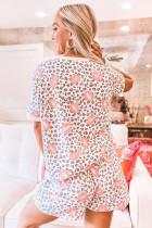 ست استراحت تابستان Lops Leopard Print